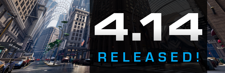Unreal Engine 4 14 is out - get the updated SkookumScript UE4 Plugin
